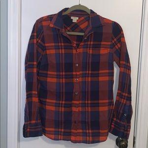 ❤️💙 J Crew Cotton Shirt